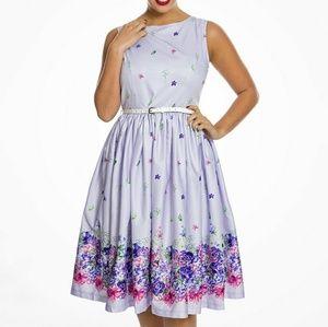 Lindybop floral dress